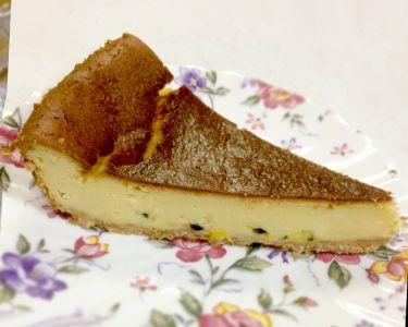 パッションフルーツのベイクドチーズケーキ